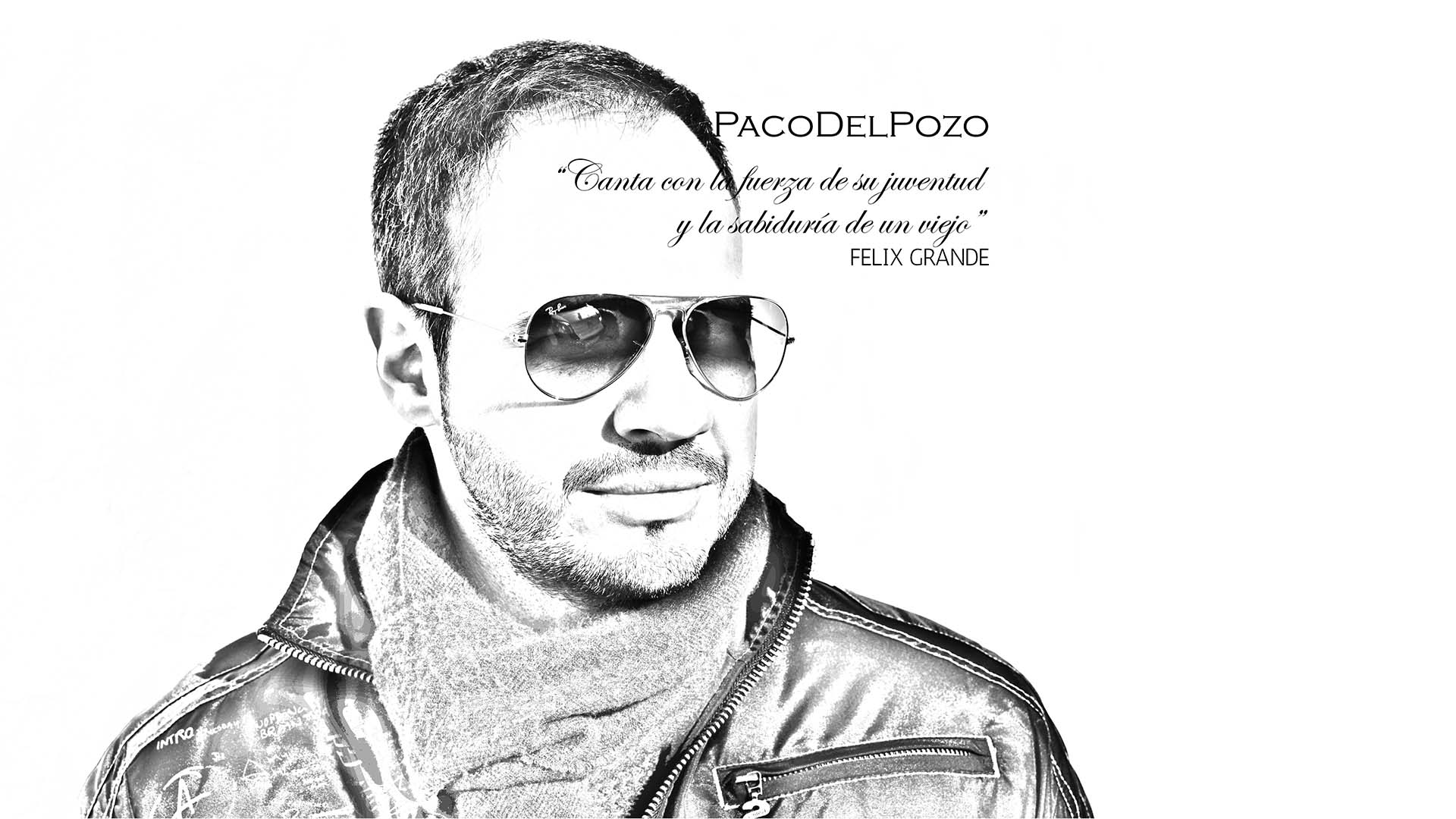 Paco Del Pozo - Main Cover Black & White